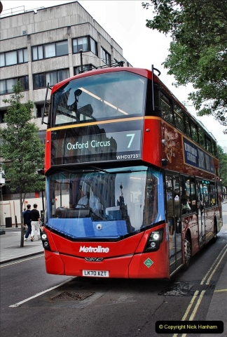 2021-09-19 & 20 Central London Buses & Coaches. (55) 055