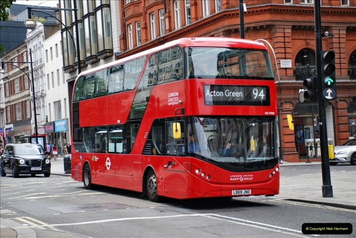 2021-09-19 & 20 Central London Buses & Coaches. (63) 063
