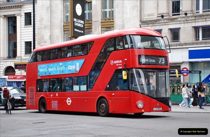 2021-09-19 & 20 Central London Buses & Coaches. (72) 072