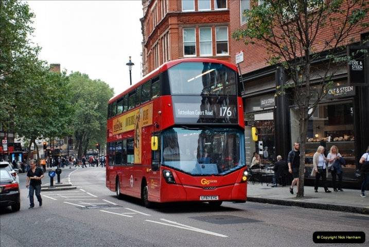 2021-09-19 & 20 Central London Buses & Coaches. (83) 083
