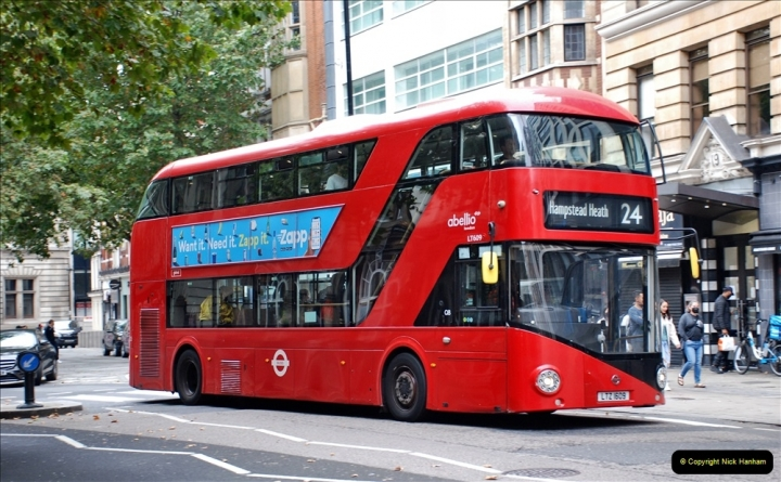 2021-09-19 & 20 Central London Buses & Coaches. (85) 085