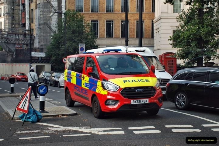 2021-09-19 & 20 Central London Lorries, Cars & Bikes. (1) 001