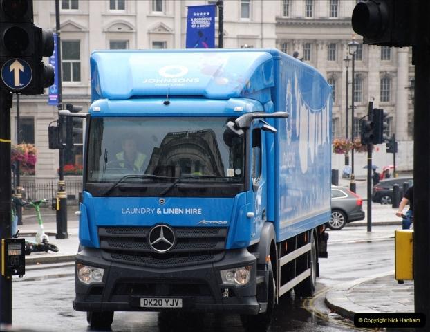 2021-09-19 & 20 Central London Lorries, Cars & Bikes. (18) 018