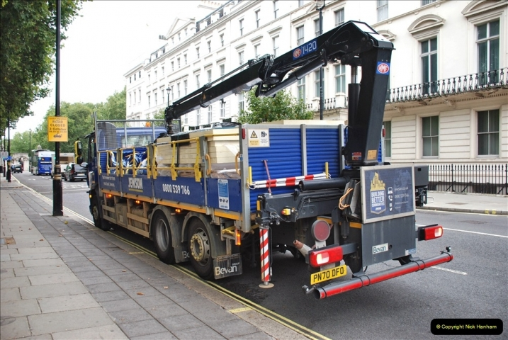 2021-09-19 & 20 Central London Lorries, Cars & Bikes. (23) 023