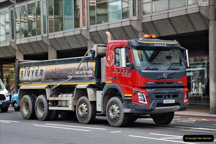 2021-09-19 & 20 Central London Lorries, Cars & Bikes. (28) 028