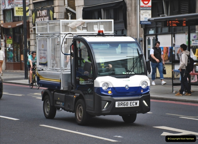 2021-09-19 & 20 Central London Lorries, Cars & Bikes. (3) 003