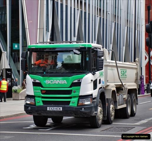 2021-09-19 & 20 Central London Lorries, Cars & Bikes. (31) 031