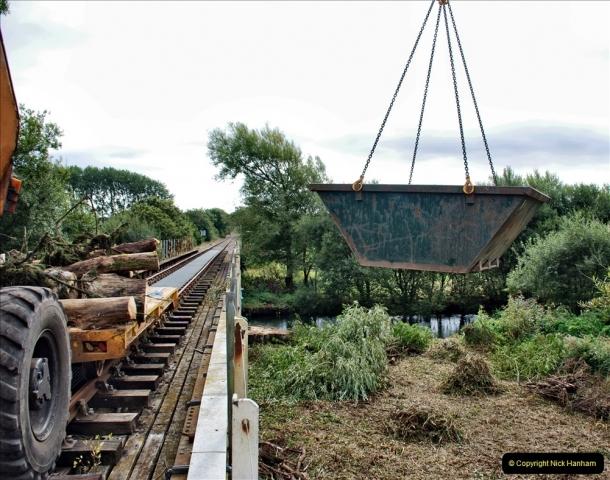 2021-09-23 SR Lineside work between Bridge 3 & 4. (107) 107