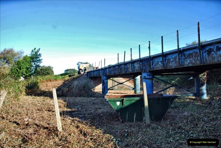 2021-09-23 SR Lineside work between Bridge 3 & 4. (38) 038