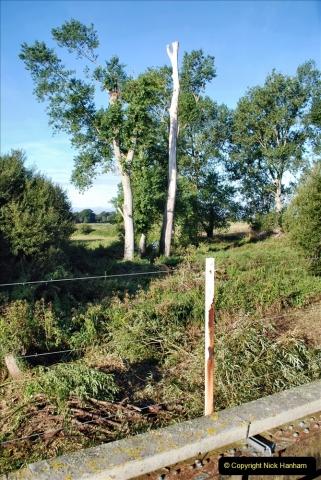 2021-09-23 SR Lineside work between Bridge 3 & 4. (44) 044