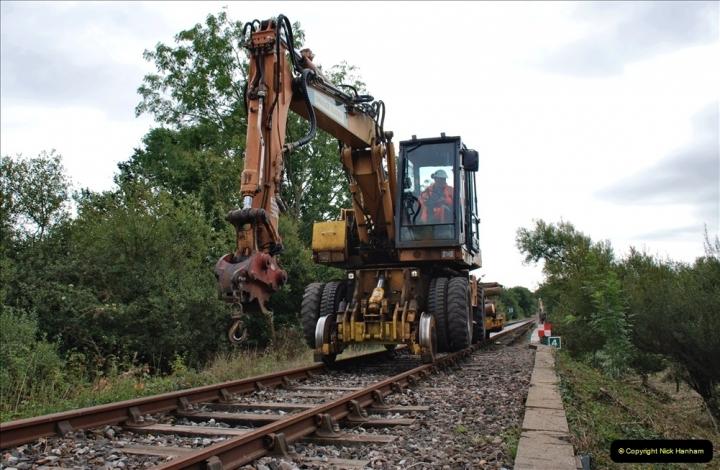 2021-09-23 SR Lineside work between Bridge 3 & 4. (99) 099