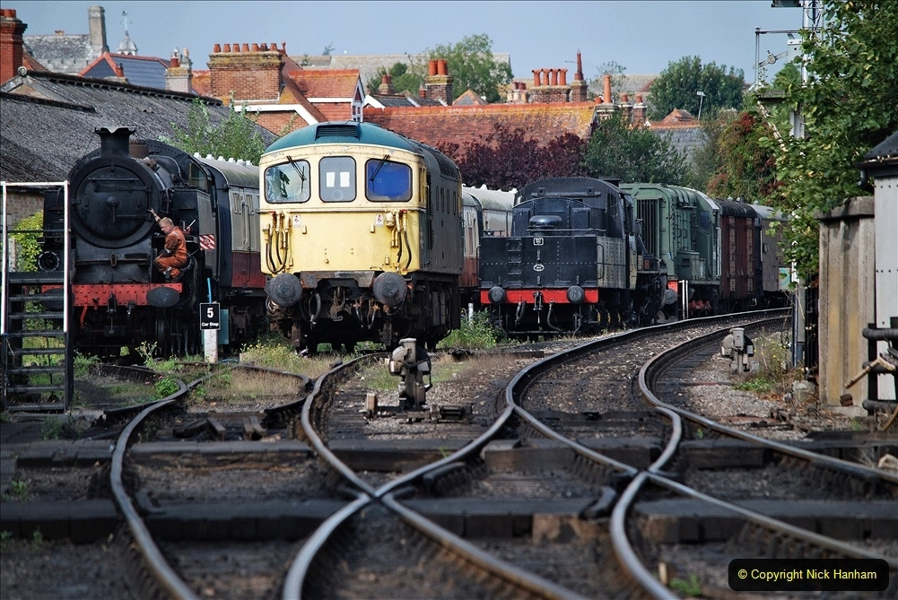 2021 September The SR back on one train running