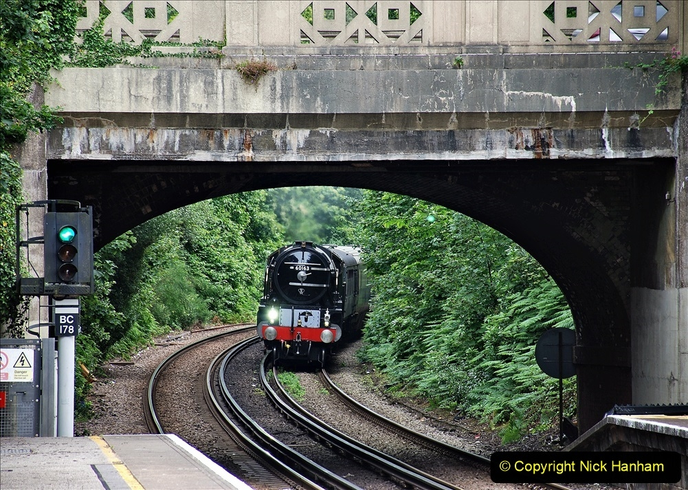 2021-07-05 TORNADO at Parkstone on empty stock to Swanage. (1) 009