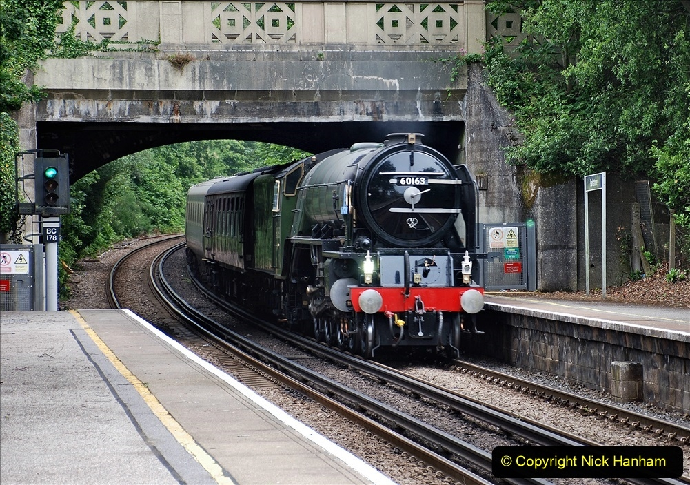 2021-07-05 TORNADO at Parkstone on empty stock to Swanage. (2) 010