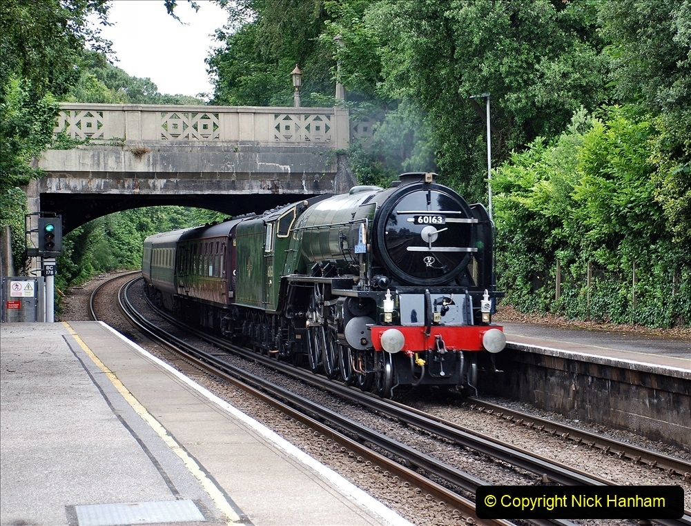 2021-07-05 TORNADO at Parkstone on empty stock to Swanage. (3) 011