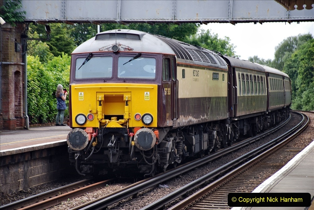 2021-07-05 TORNADO at Parkstone on empty stock to Swanage. (9) 017