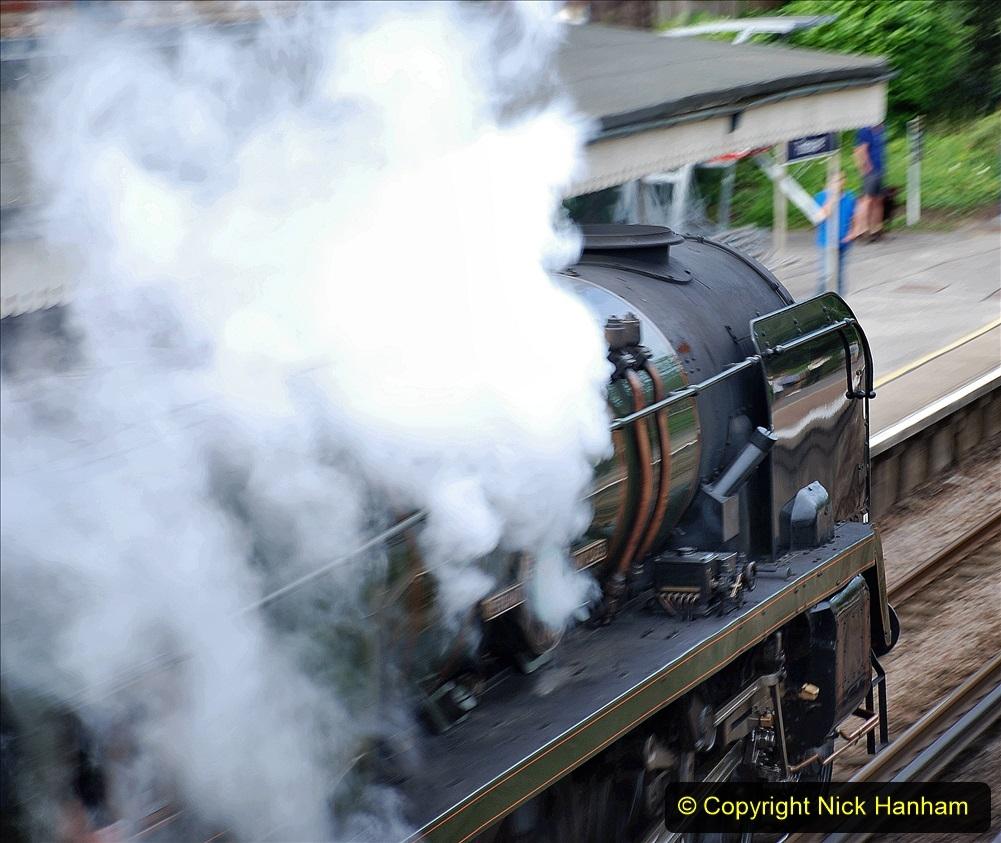 2021-07-09 - 35018 at Parkstone, Poole, Dorset. (4) 021