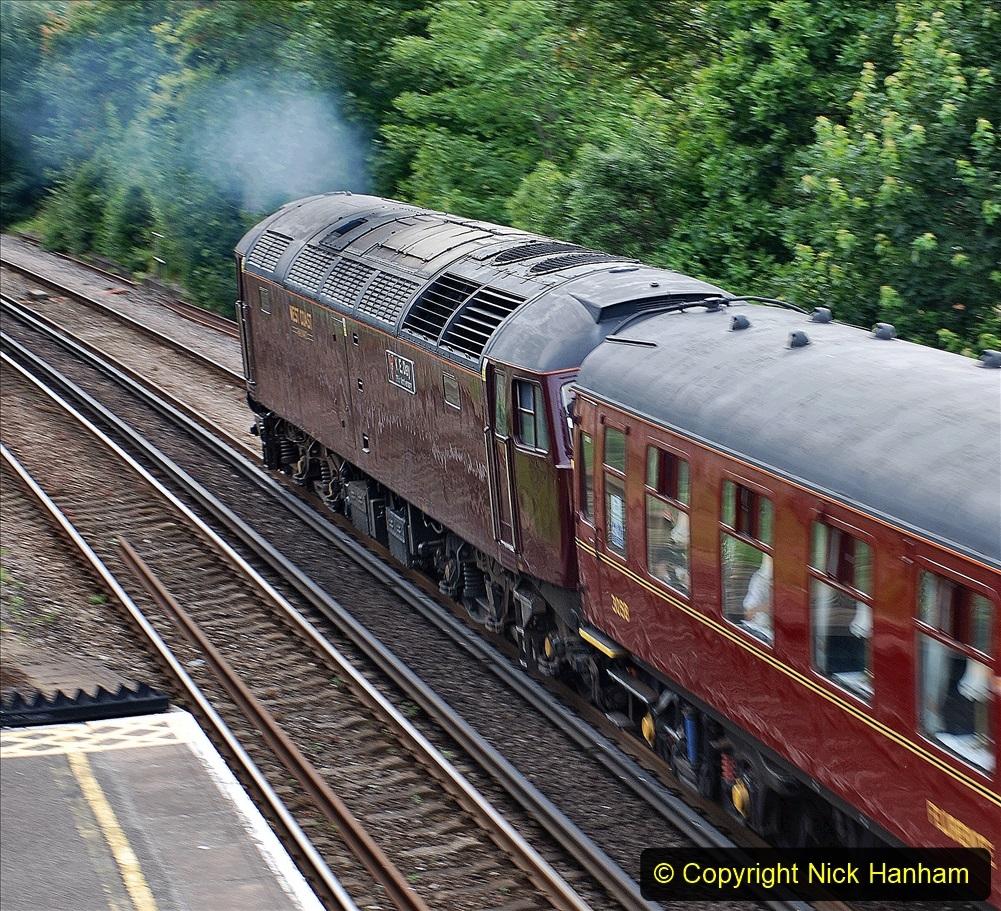 2021-07-09 - 35018 at Parkstone, Poole, Dorset. (6) 023