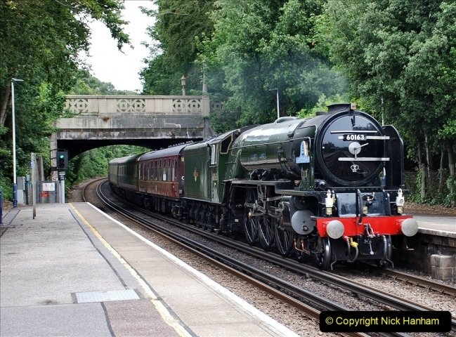 2021-07-05 TORNADO at Parkstone on empty stock to Swanage. (4) 012