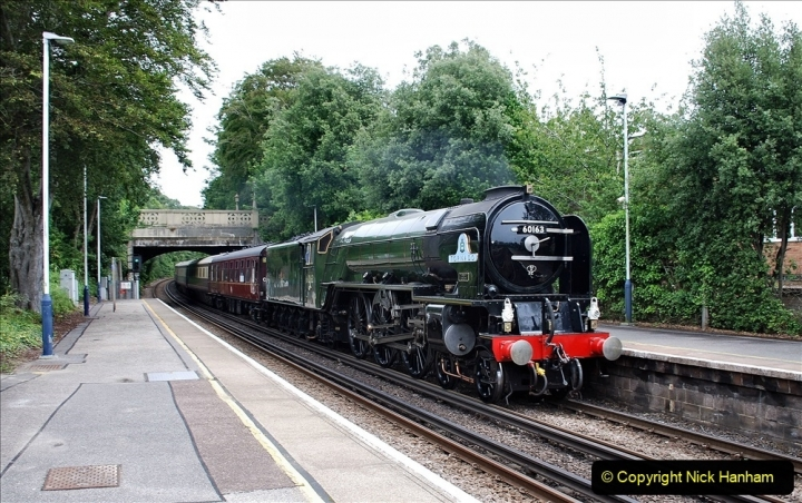 2021-07-05 TORNADO at Parkstone on empty stock to Swanage. (5) 013