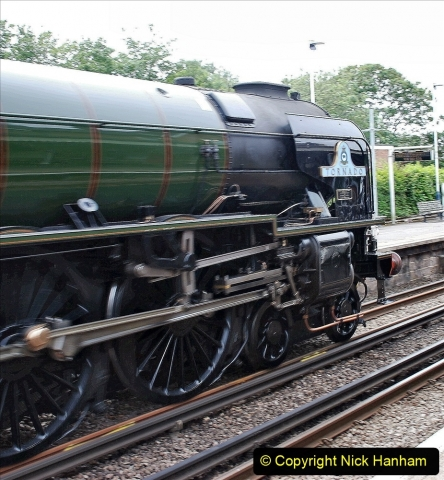 2021-07-05 TORNADO at Parkstone on empty stock to Swanage. (6) 014
