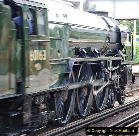 2021-07-05 TORNADO at Parkstone on empty stock to Swanage. (7) 015