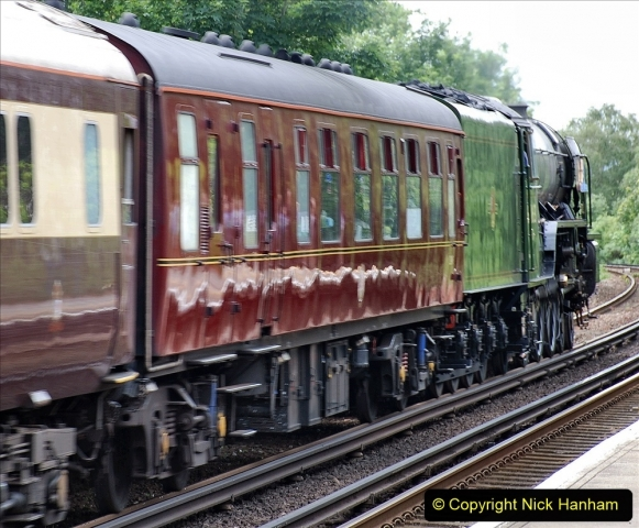 2021-07-05 TORNADO at Parkstone on empty stock to Swanage. (8) 016
