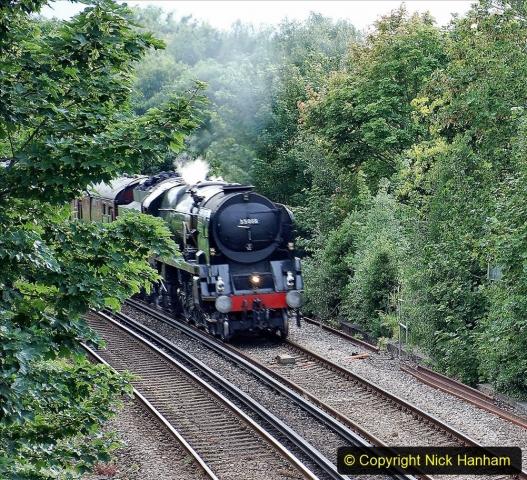 2021-07-09 - 35018 at Parkstone, Poole, Dorset. (1) 018