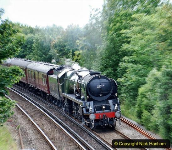 2021-07-09 - 35018 at Parkstone, Poole, Dorset. (3) 020