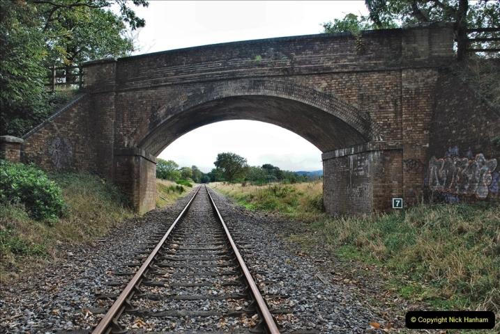 2021-10-07 Bridge 7 to Bridge 2 & Track Gang. (6) To Swanage. 006