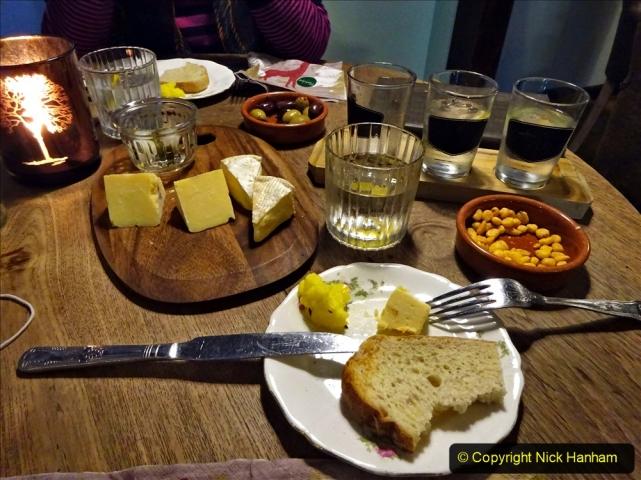 2020-12-14 Brockenhurst, Hampshire. (10) Gin taster menu. 062