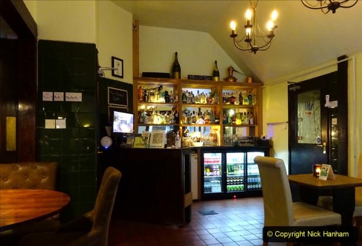 2020-12-14 Brockenhurst, Hampshire. (11) Gin taster menu. 063