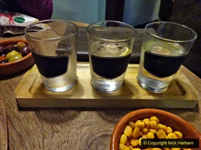 2020-12-14 Brockenhurst, Hampshire. (12) Gin taster menu. 064