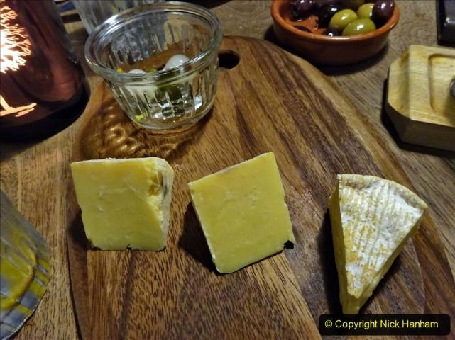 2020-12-14 Brockenhurst, Hampshire. (13) Gin taster menu. 065