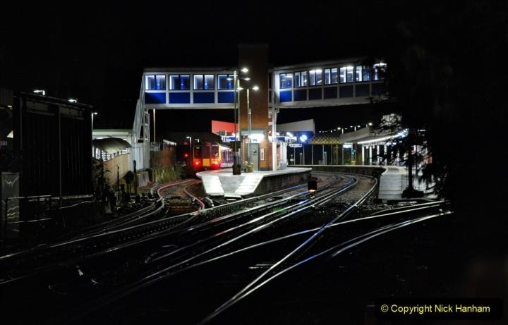2020-12-14 Brockenhurst, Hampshire. (18) The town at night. 070