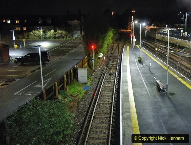 2020-12-14 Brockenhurst, Hampshire. (28) The town at night. 080