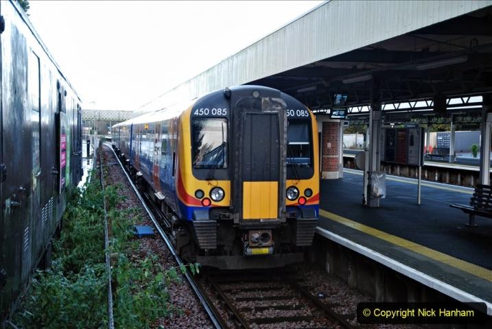 2020-12-14 Brockenhurst, Hampshire. (45) The brockenhurst to Lymington Pier train. 097