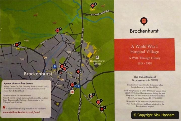 2020-12-14 Brockenhurst, Hampshire. (47) WW1 and New Zealand troops hospital area walk. 099