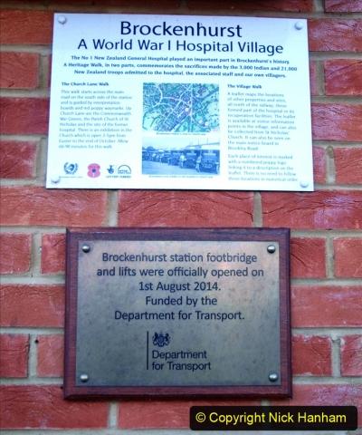 2020-12-14 Brockenhurst, Hampshire. (50) WW1 and New Zealand troops hospital area walk. 102