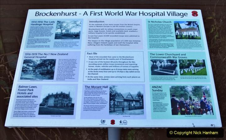 2020-12-14 Brockenhurst, Hampshire. (54) WW1 and New Zealand troops hospital area walk. 106