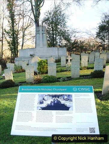 2020-12-14 Brockenhurst, Hampshire. (64) WW1 and New Zealand troops hospital area walk. 116