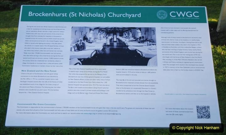 2020-12-14 Brockenhurst, Hampshire. (65) WW1 and New Zealand troops hospital area walk. 117