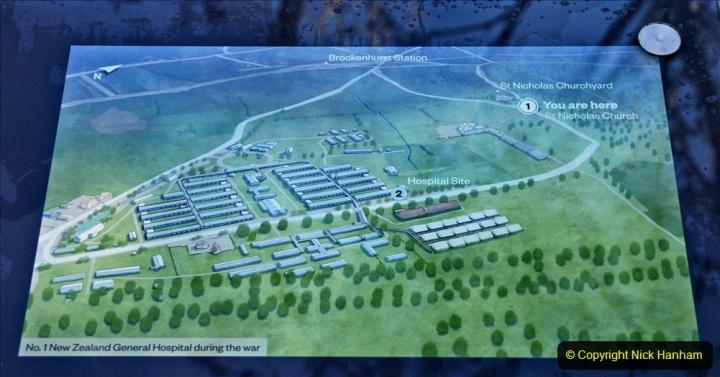 2020-12-14 Brockenhurst, Hampshire. (75) WW1 and New Zealand troops hospital area walk. 127