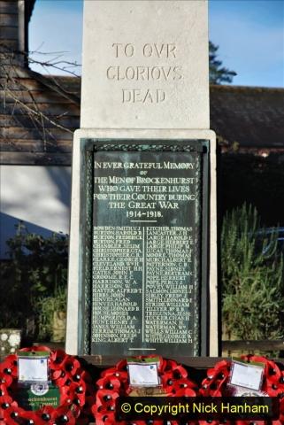 2020-12-14 Brockenhurst, Hampshire. (80) WW1 and New Zealand troops hospital area walk. 132