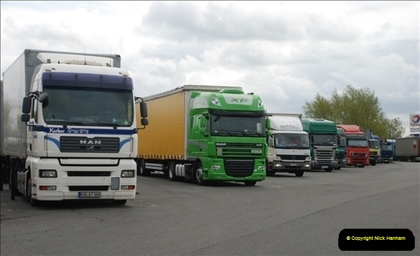 2012-04-23 to 47 Wimborne - Dorset, Dover - Kent, Belgium, Holland, Dover - Kent, Wimborne - Dorset (499)499