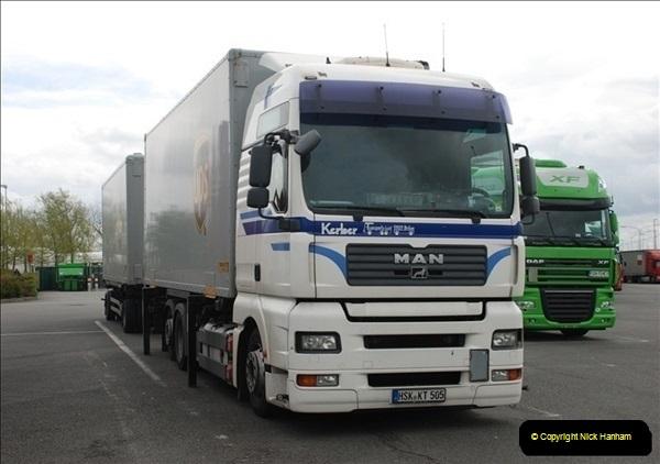 2012-04-23 to 47 Wimborne - Dorset, Dover - Kent, Belgium, Holland, Dover - Kent, Wimborne - Dorset (500)500