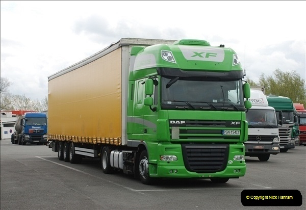 2012-04-23 to 47 Wimborne - Dorset, Dover - Kent, Belgium, Holland, Dover - Kent, Wimborne - Dorset (501)501