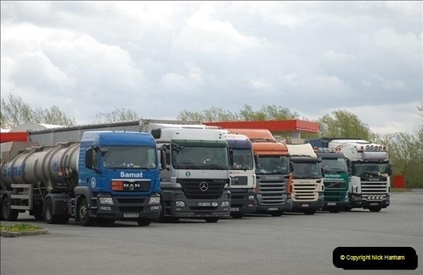2012-04-23 to 47 Wimborne - Dorset, Dover - Kent, Belgium, Holland, Dover - Kent, Wimborne - Dorset (506)506