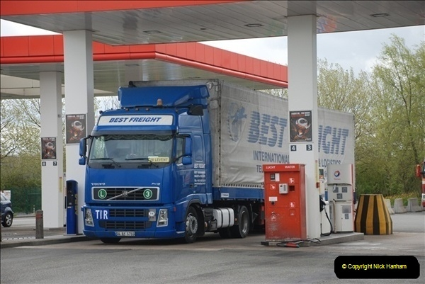 2012-04-23 to 47 Wimborne - Dorset, Dover - Kent, Belgium, Holland, Dover - Kent, Wimborne - Dorset (513)513