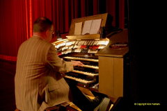 2019 March 16 Bournemouth Pavilion Theatre 90 Years. (43) The Compton Organ in action. 043